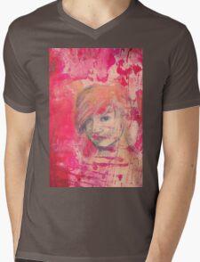 Jaynie - original portrait of a girl Mens V-Neck T-Shirt