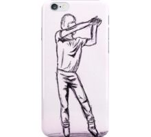 Napoleon Dynamite dance 3 iPhone Case/Skin