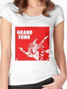 Grand Funk Railroad  Women's Fitted Scoop T-Shirt