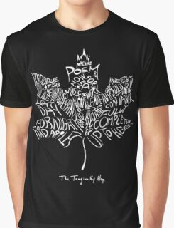THE TRAGICALLY HIP - typography edition white summer tour 2016 Graphic T-Shirt
