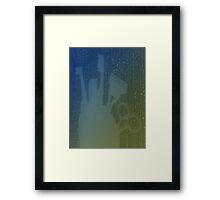 All Aboard Night Voyage Framed Print