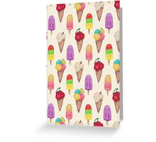 I scream for Icecream! Greeting Card