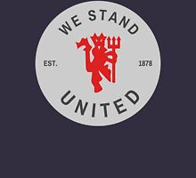 We Stand United Silver Badge Unisex T-Shirt