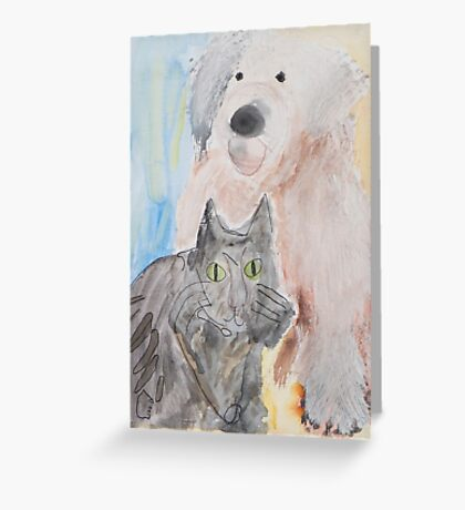 Spooky and OES Greeting Card