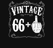 Vintage middle finger salute 67th birthday gift funny 67 birthday 1949 Unisex T-Shirt