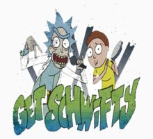 rick and morty get schwifty Kids Tee