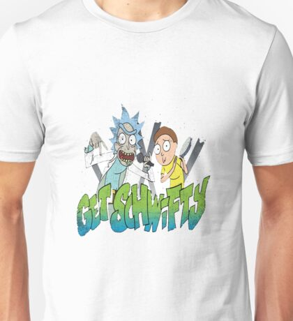 rick and morty get schwifty Unisex T-Shirt