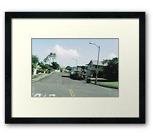 vctn 05 Framed Print