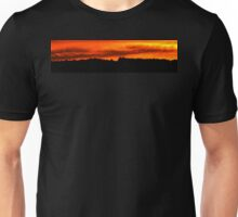 Burning sky Unisex T-Shirt
