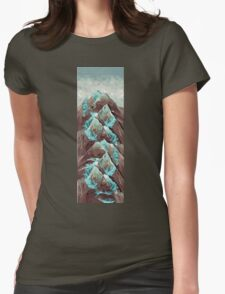 The Great, Great Night Mountain Womens Fitted T-Shirt