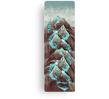 The Great, Great Night Mountain Canvas Print