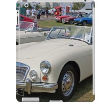 MG  Sports 1589cc 1960 iPad Case/Skin