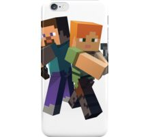 Minecraft Protagonists iPhone Case/Skin