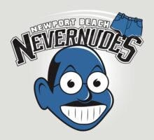 Newport Beach Nevernudes shirt by lavalamp