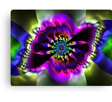 Hypnotizing eye Canvas Print