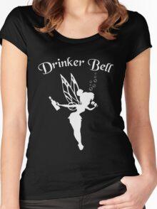 Drinkerbell Shirt Women's Fitted Scoop T-Shirt