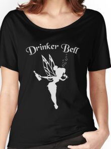 Drinkerbell Shirt Women's Relaxed Fit T-Shirt