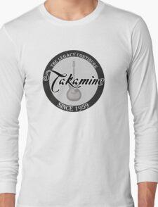 Takamine Guitar Long Sleeve T-Shirt