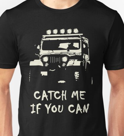 Off Road 4X4 Rover Jeep Hilux AWD 90 110 Cruiser Unisex T-Shirt