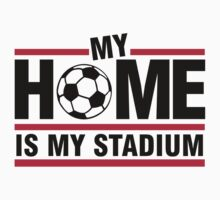 My home is my stadium Baby Tee