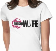 Soccer wife Womens Fitted T-Shirt