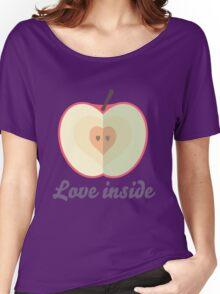 Love inside Women's Relaxed Fit T-Shirt