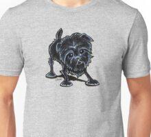 Affenpinscher at Play Unisex T-Shirt