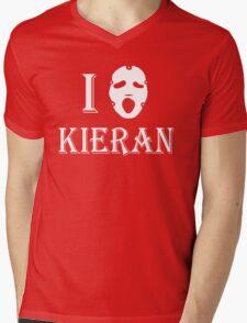 I love Kieran - White Mens V-Neck T-Shirt