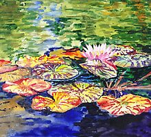 Water Lilies by Irina Sztukowski