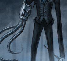 Steampunk Slender Man Sticker