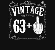 Vintage middle finger salute 64th birthday gift funny 64 birthday 1952 Unisex T-Shirt
