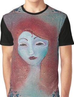 Poison Ivy fae portrait  Graphic T-Shirt