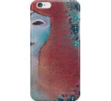 Poison Ivy fae portrait  iPhone Case/Skin