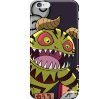 Monster in Paradise iPhone Case/Skin