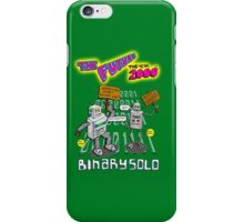 Flight of the Conchords - Binary Solo - Robots 2 iPhone Case/Skin