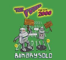 Flight of the Conchords - Binary Solo - Robots 2 Kids Clothes