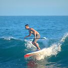 Paddle Boarding In Laguna Beach II by K D Graves Photography