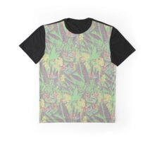 Tropical Paradise: Emerald Dream Graphic T-Shirt