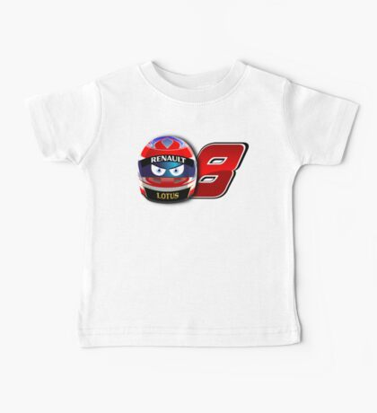Romain Grosjean #8_ 2014 Baby Tee