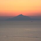 Mount Athos At Sunset by Vicki Spindler (VHS Photography)