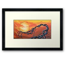 Still Stand I - Art by ANGIECLEMENTINE Framed Print