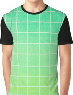 green gradient Graphic T-Shirt