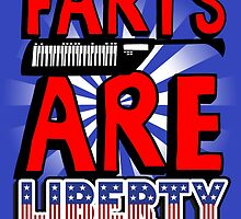 Farts are Liberty shirt poster by lavalamp