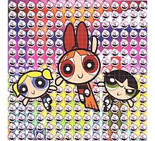 Power Puff Girls Photographic Print