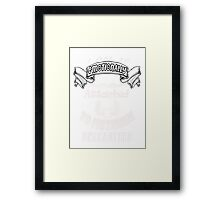 Fictional characters Framed Print
