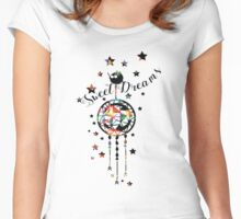 Sweet Dreams dream cather Women's Fitted Scoop T-Shirt