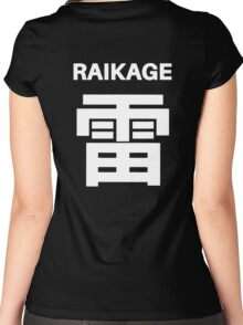 Kage Squad Jersey Raikage Women's Fitted Scoop T-Shirt
