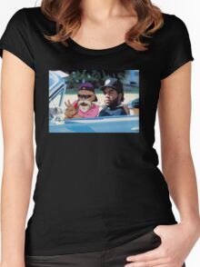 Ice Cube x Master Roshi Women's Fitted Scoop T-Shirt