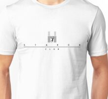 Starck Retro - White Unisex T-Shirt