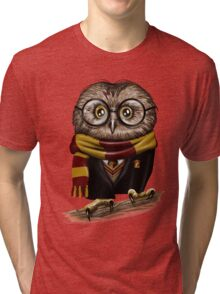 Owly Potter Tri-blend T-Shirt